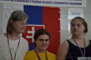 Jadranka Marič na stupni víťazov
